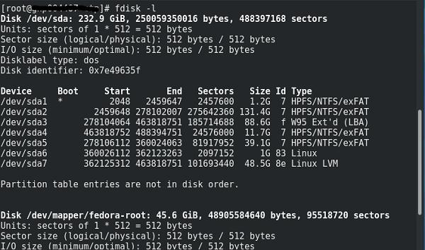 sorage skills , file system , mount , fdisk