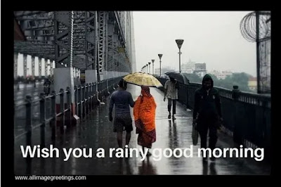 Rainy good morning