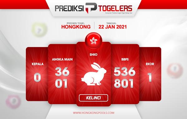 Prediksi Togelers HK 22 Januari 2021 Hari Jumat 1