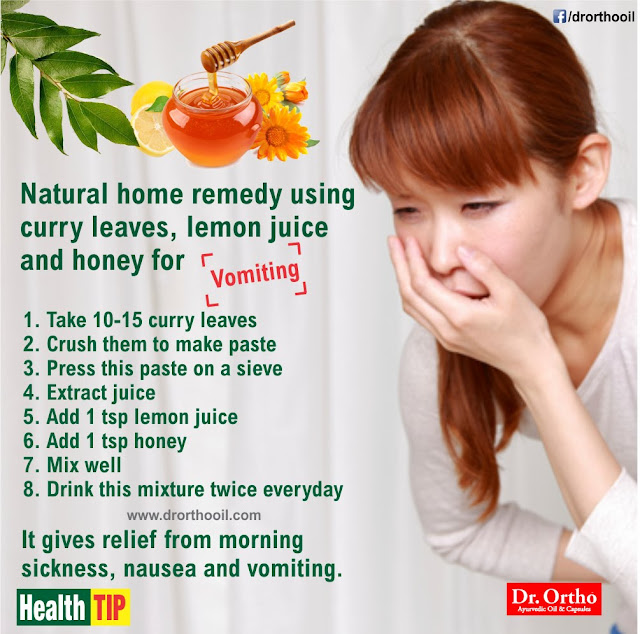 Natural Home Remedy for Vomiting Stop