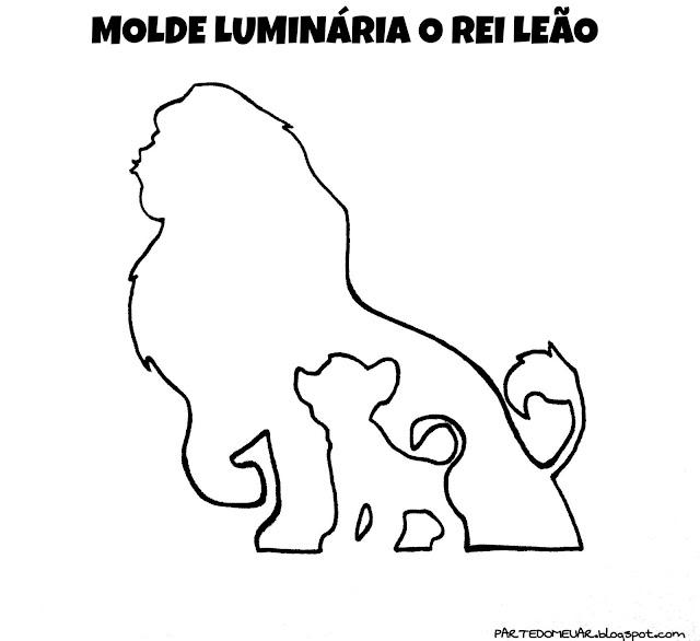 MOLDE REI LEAO