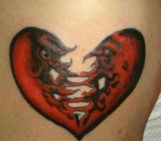 Small Heart Tattoo design