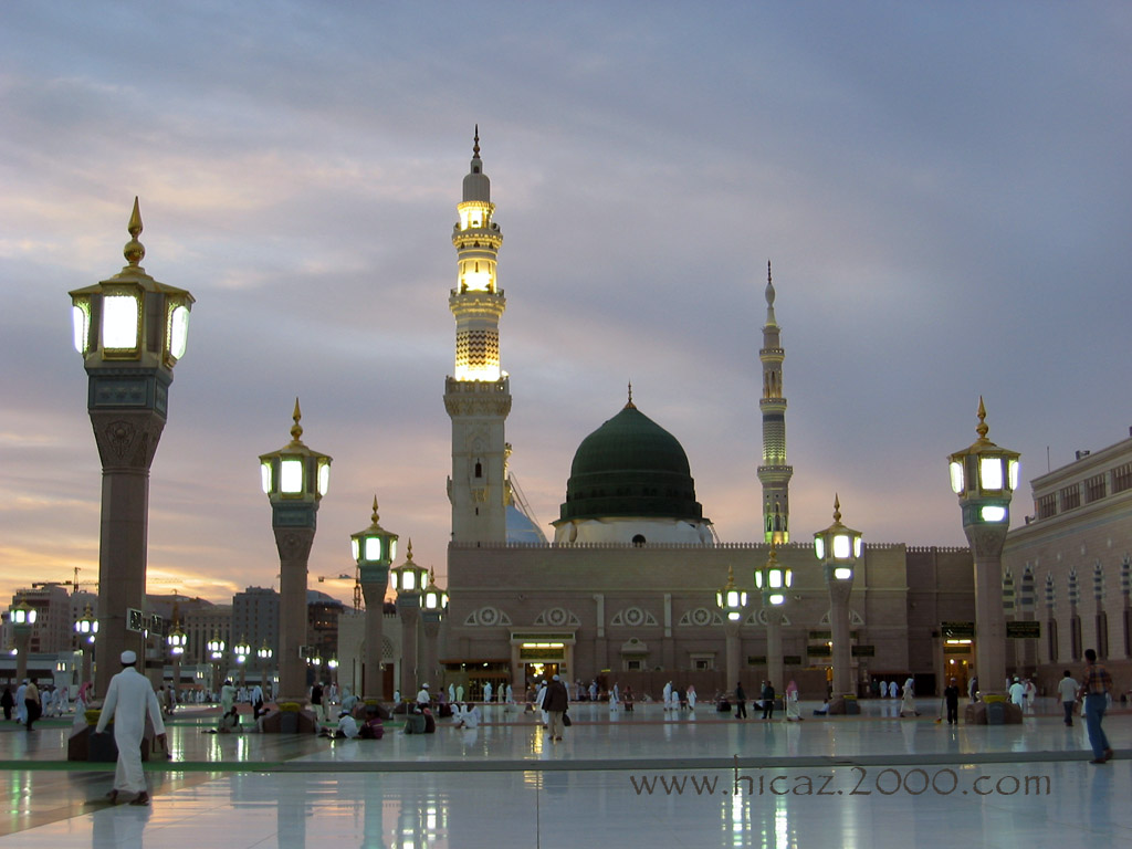 Masjid E Nabvi Madina
