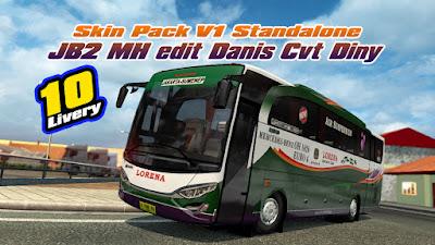 Skin Pack V1 Jetbus 2 M.Husni Edit Danis Cvt Diny update 1.36