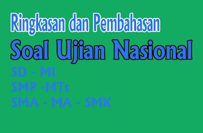 Soal UN Bahasa Indonesia SMP Tahun 2020