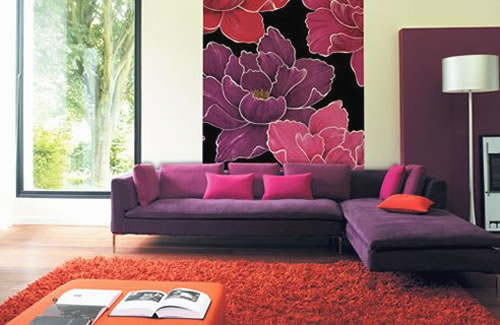 Awesome Flowers interior design ideas for walls inspiring decor.