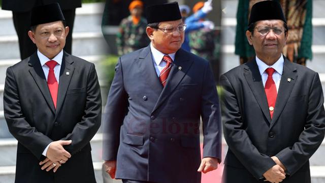 Mahfud MD, Tito dan Prabowo Sepakat Kerja Bareng