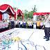 Kapolres Banjar Pimpin TFG Pengamanan Haul Guru Sekumpul dan Kedatangan Capres No Urut 02