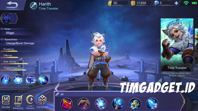 Build Hero Harith Mobile Legends, Build Paling Sakit!