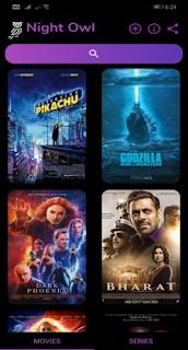 Night Owl – FREE Latest Movies & Series v7.1 Mod Apk
