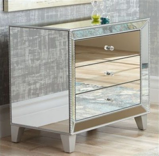 accent tables with mirrors