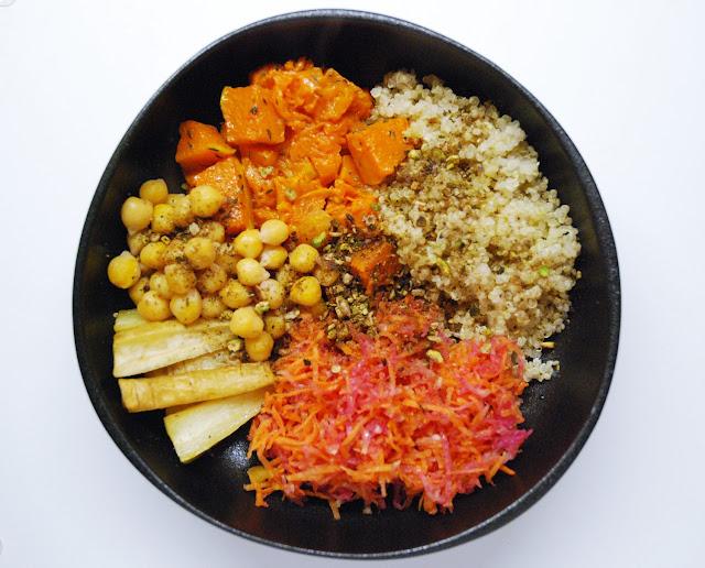 Buddha bowl d'automne