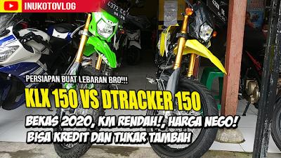 Review Motor Bekas klx 150 bf 2020 dan Dtracker 150 2020