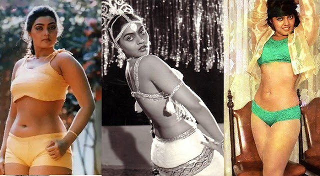 15 Rare Pics: Unforgettable moments of Silk Smitha the lost spring of glamour