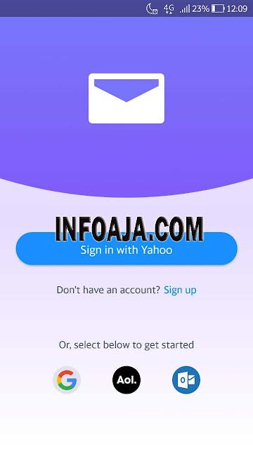 Cara Daftar Email Yahoo di Android