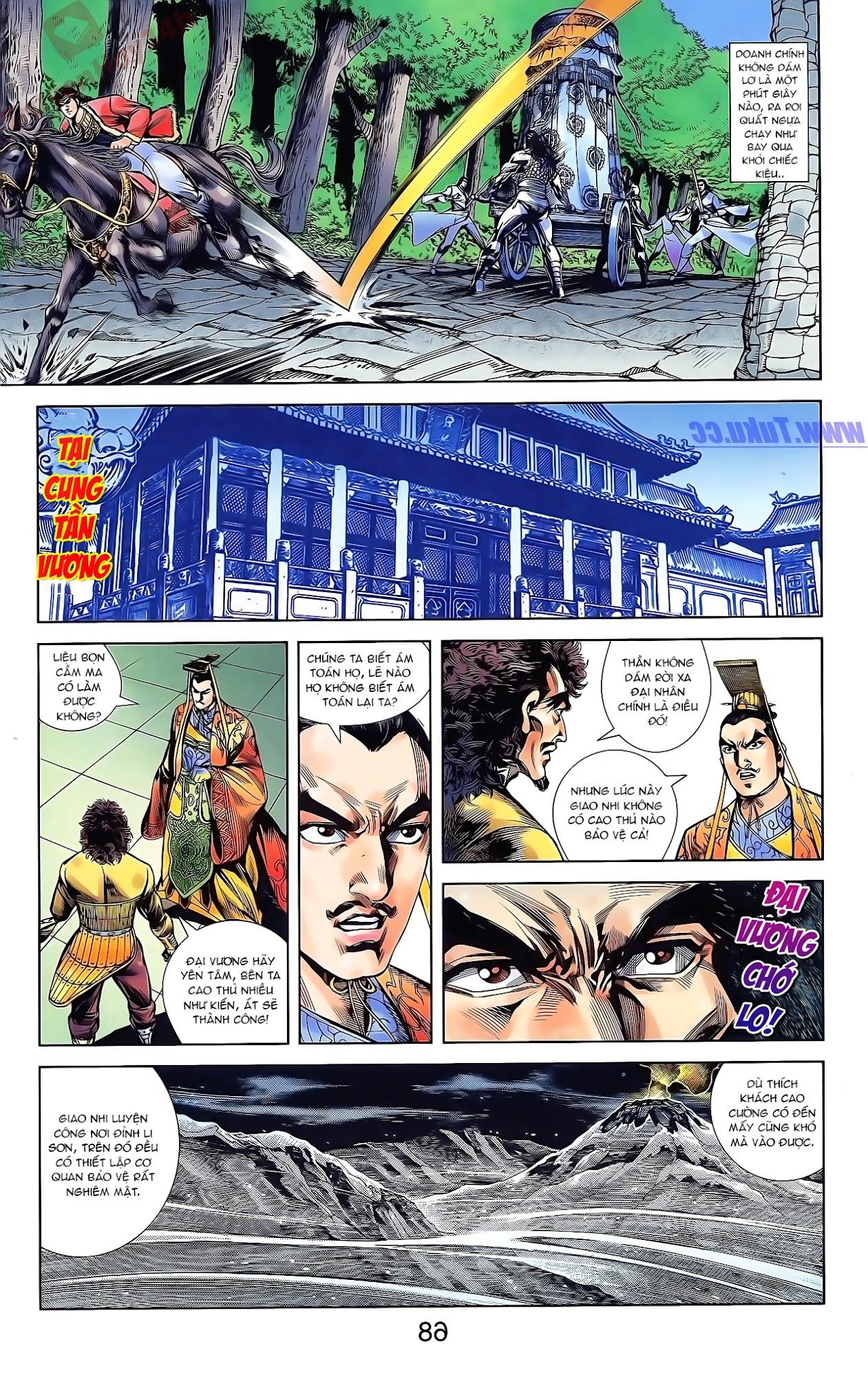 Tần Vương Doanh Chính chapter 44 trang 20