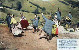 Carte Postale d'Auvergne