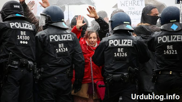 Germany Anti-pandemic protests Covid-19 updates