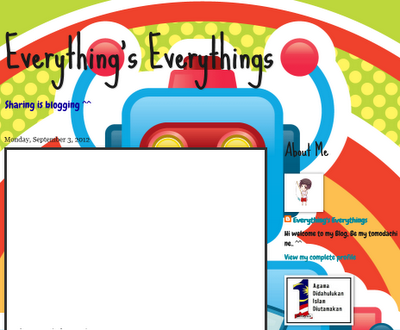 Hati Blogger | Everything's Everythings | Sharing is blogging ^^