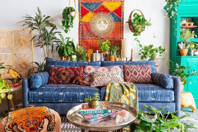 incorporate pieces both new and old to get the boho look