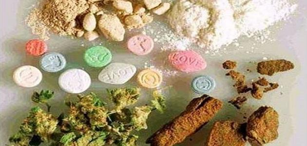 أنواع المخدرات وأثارها في جسم المدمن