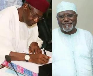 Abba Kyari and Lawal Daura Resignation