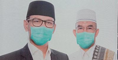 Pasangan HARUM Resmi Daftar di KPU Kota Mataram