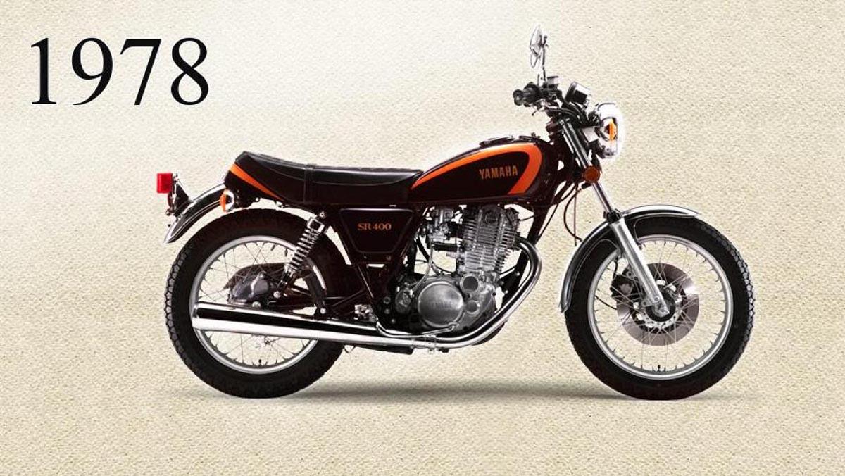 Yamaha SR400 1978 Model