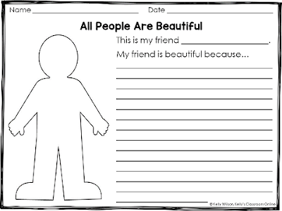 Free Printable by Kelly Wilson/Kelly's Classroom Online