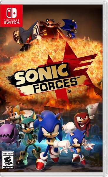 Sonic Forces NSP Switch