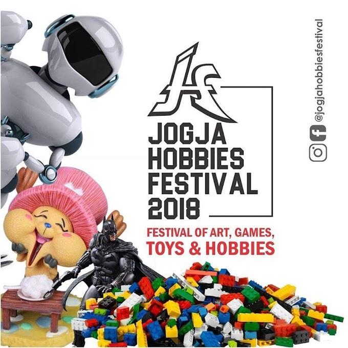 Yuk Di Catat Tanggalnya, Jogja Hobbies Festival 2018