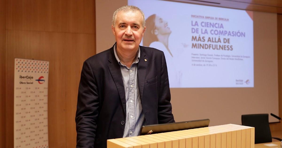 """""""Ser más cariñosos con nosotros mismos mejora nuestro entorno"""", el Dr. García Campayo presenta """"La ciencia de la compasión"""""""