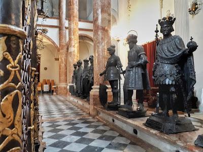 Innsbruck Hofkirche statues