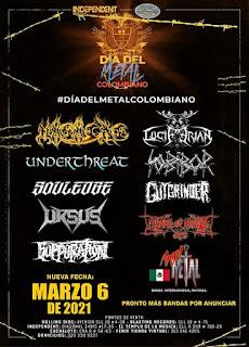 FESTIVAL Dia Del Metal Colombiano 2021