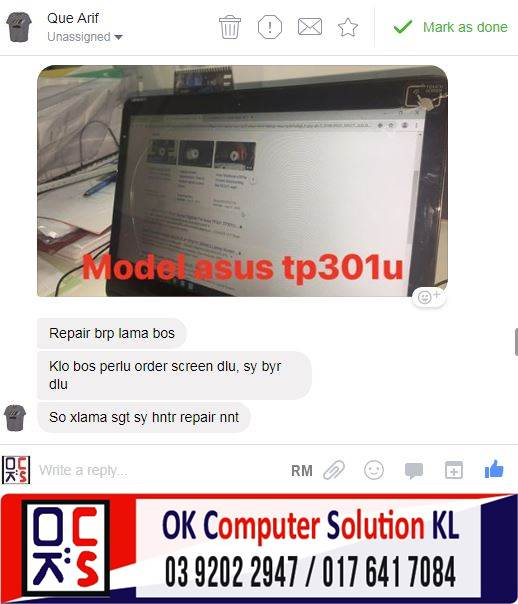 [SOLVED] SERVICE & REPAIR HINGE LAPTOP ASUS | REPAIR LAPTOP CHERAS 2