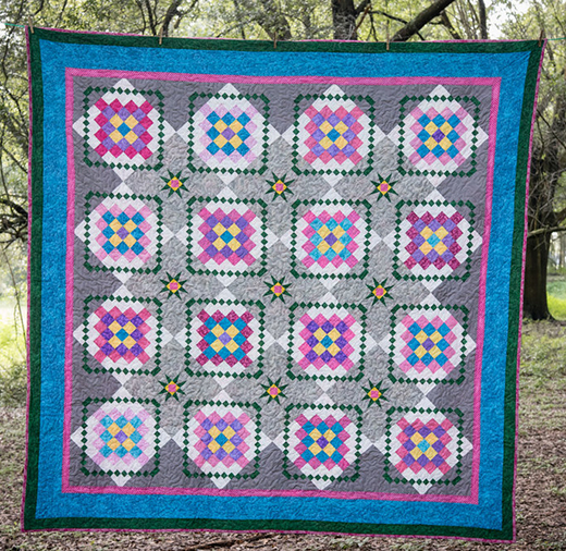 Granny's Selfies Quilt Free Pattern