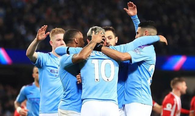 Video Cuplikan Gol: Manchester City 2-0 Sheffield United (Premier League)