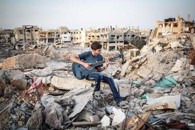 Carte postale de Gaza dans - PHOTOGRAPHIE a1