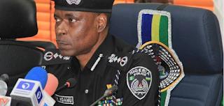 Nigerian police IG, Mohammed Adamu
