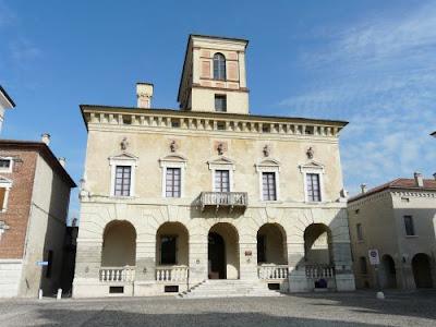Il Borgo di Sabbioneta in provincia di Mantova. Borghi piu' belli in Italia
