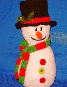 http://patronesamigurumipuntoorg.blogspot.com.es/2013/11/muneco-de-nieve-grande.html#.Uqy3TyfpxVc
