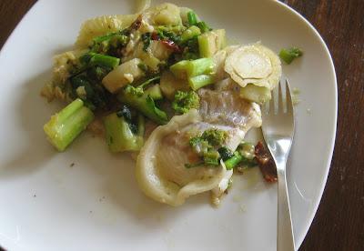 Kabeljau mit Fenchel-Stängelkohl-Gemüse