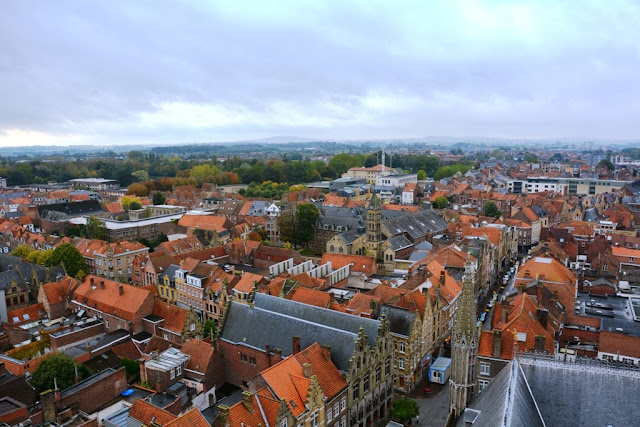 Airial Views Ieper