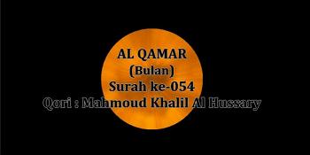Surah Al Qamar termasuk kedalam golongan surat Surat | Surah Al Qamar Arab, Latin dan Terjemahannya
