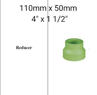 Jual reducer 110mm × 50mm
