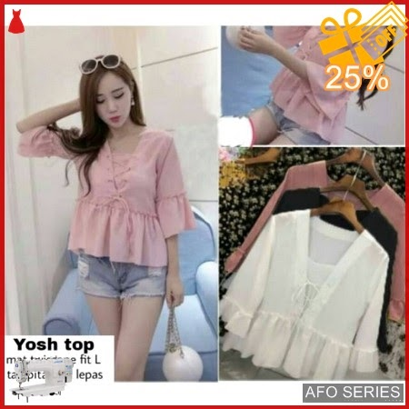 AFO014 Model Fashion Yosh Top Modis Murah BMGShop