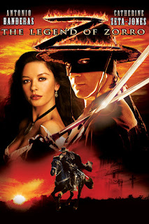 Movie poster for The Legend of Zorro (2005).