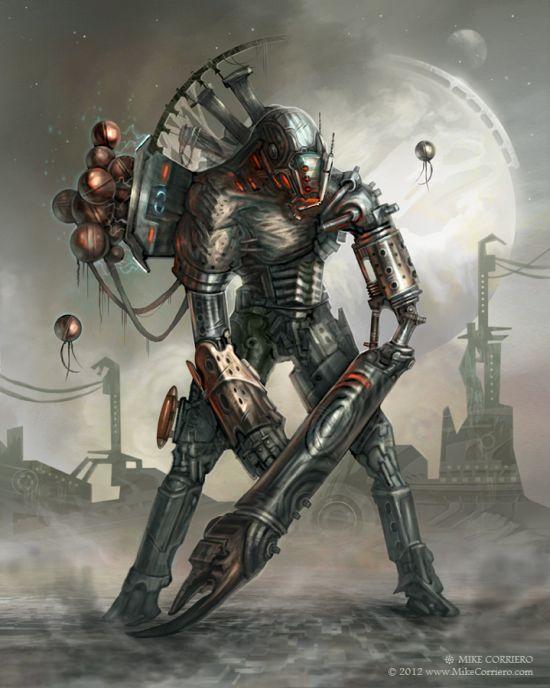 Mike Corriero deviantart artstation arte ilustrações fantasia ficção científica games