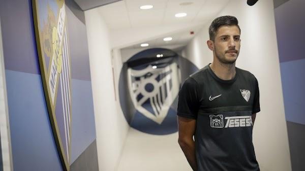 """Pablo Chavarría - Málaga -: """"Estoy muy contento por seguir aquí"""""""