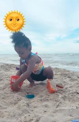 LynnBella at the beach